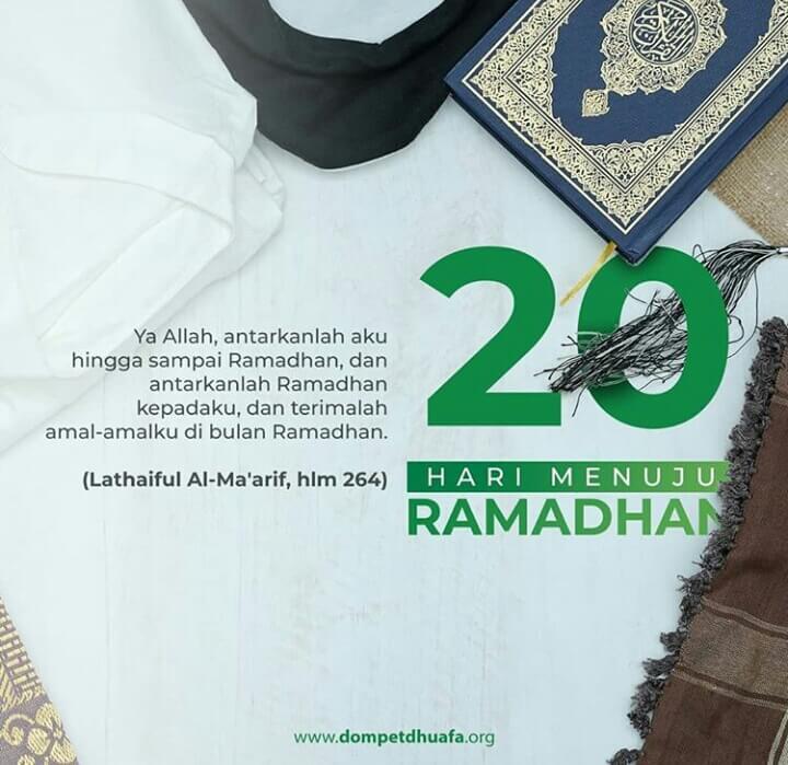 kata kata menyambut bulan ramadhan 2020