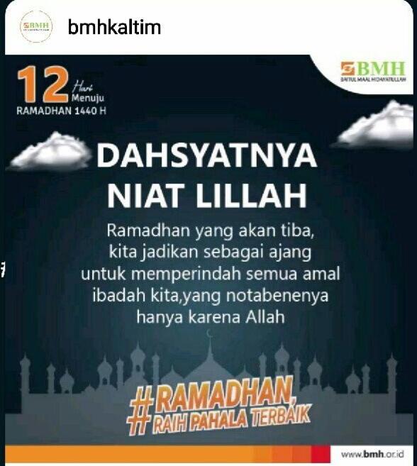 kata kata ramadhan 1441 H