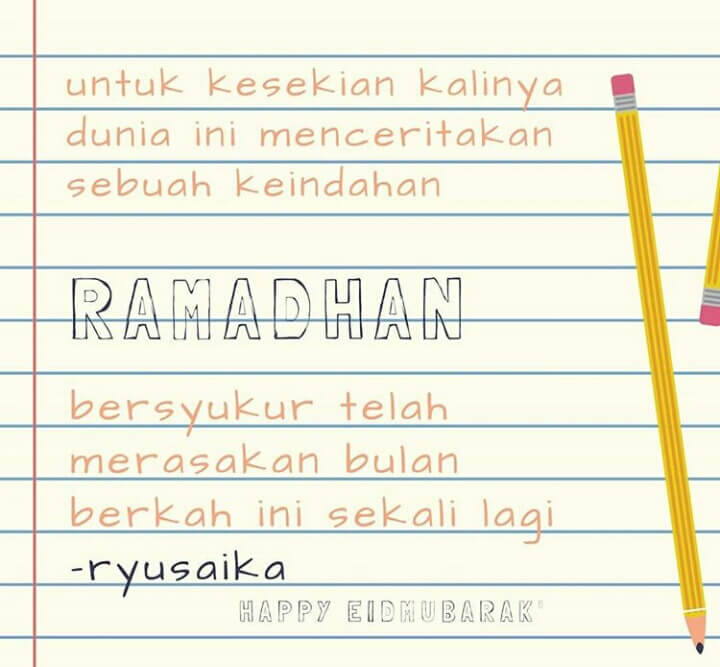 kata kata bulan ramadhan 2019