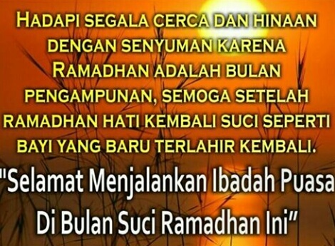kata kata menyambut bulan ramadhan 2019