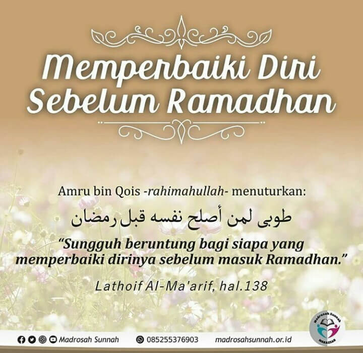 kata kata bulan ramadhan 2020