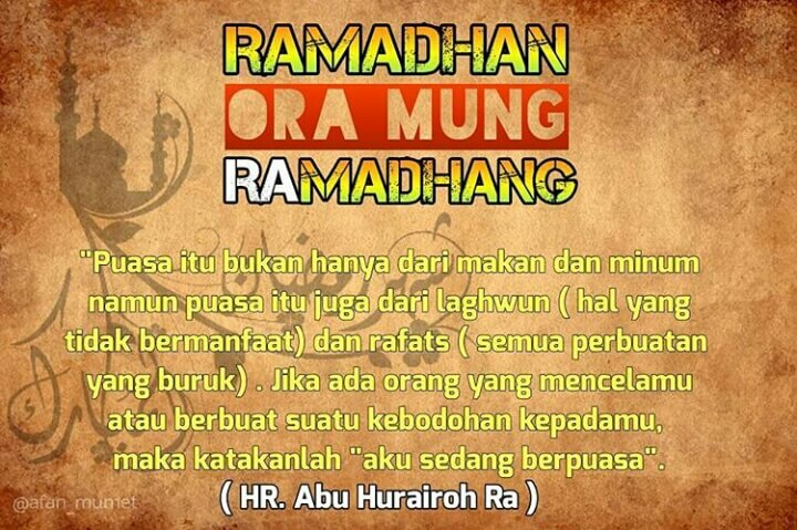 kata kata rindu bulan ramadhan 2020