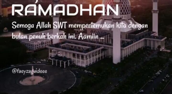 kata kata menyambut ramadhan 1441 h