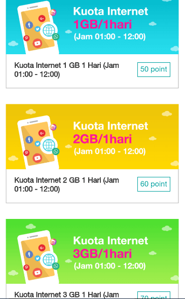 internetan gratis kartu three