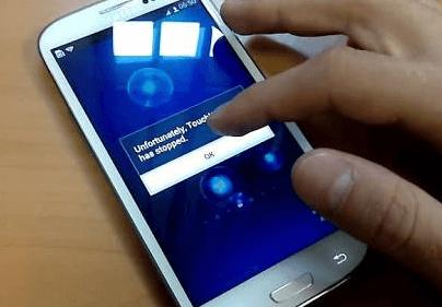 penyebab touchscreen tidak berfungsi
