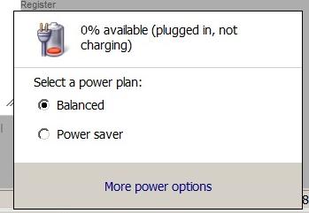 tidak bisa mengisi baterai laptop