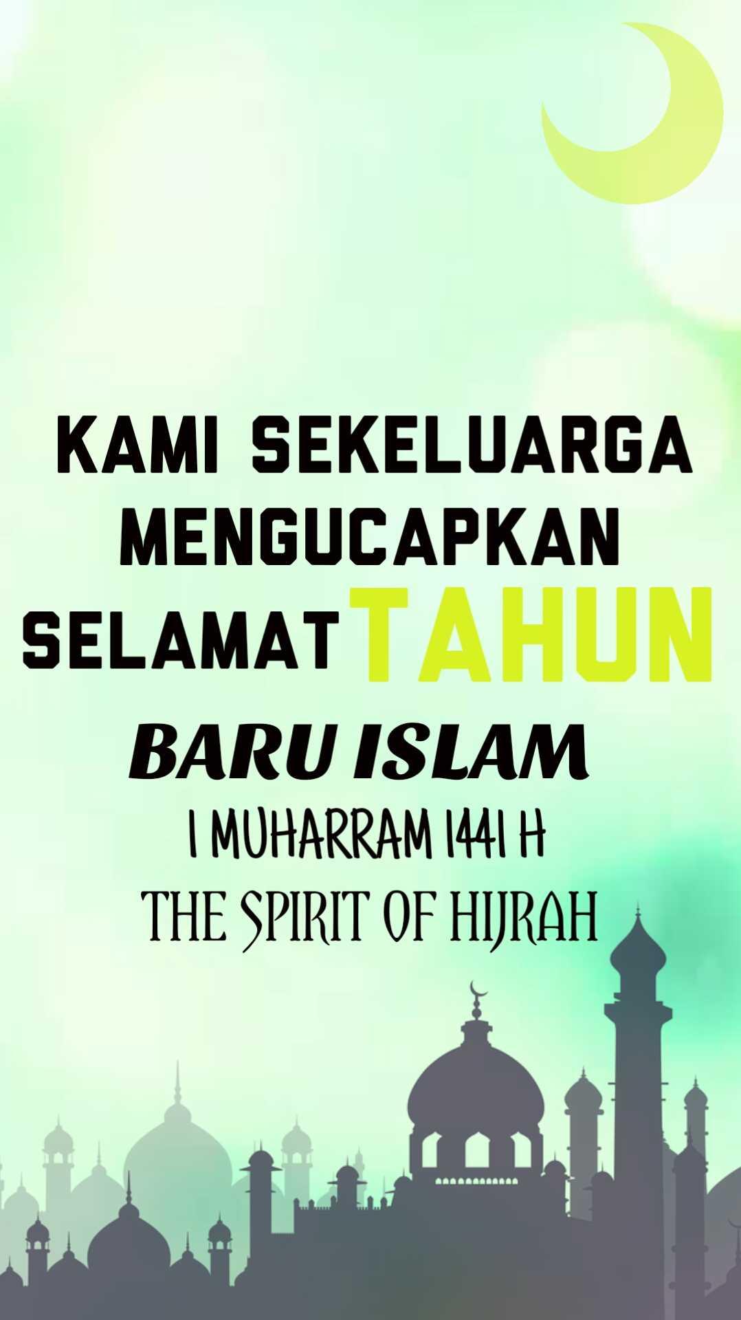 ucapan selamat tahun baru islam 1441 H