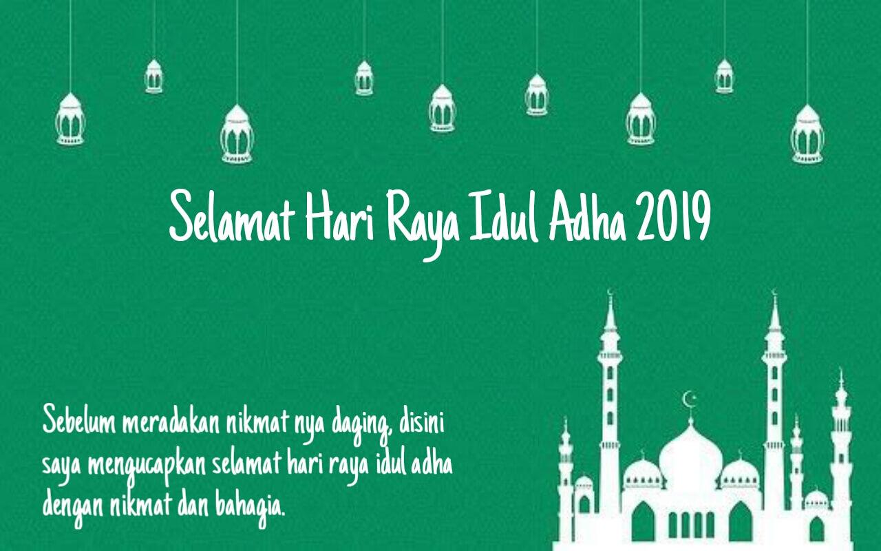 50 Kata Kata Ucapan Selamat Hari Raya Idul Adha 20191440 H
