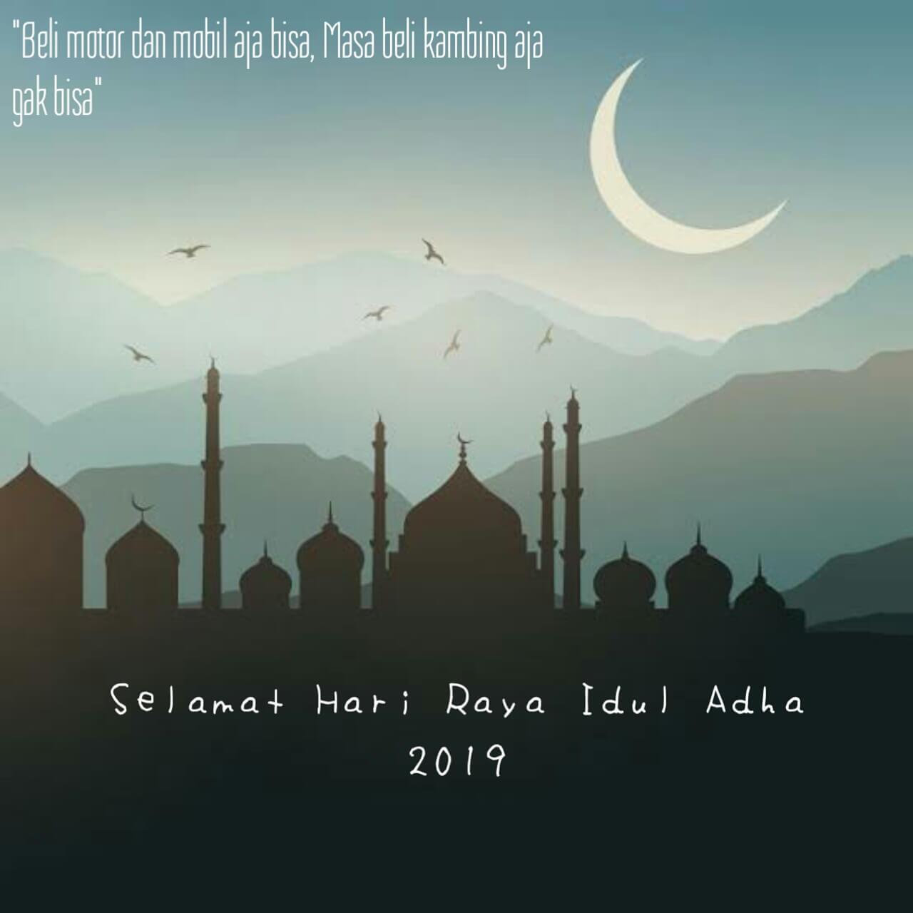 50 Kata Kata Ucapan Selamat Hari Raya Idul Adha 2019/1440
