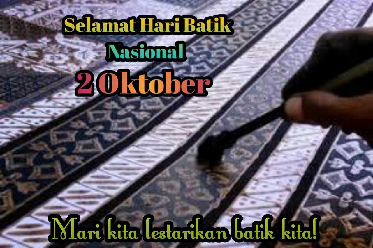 ucapan selamat hari batik nasional 2019