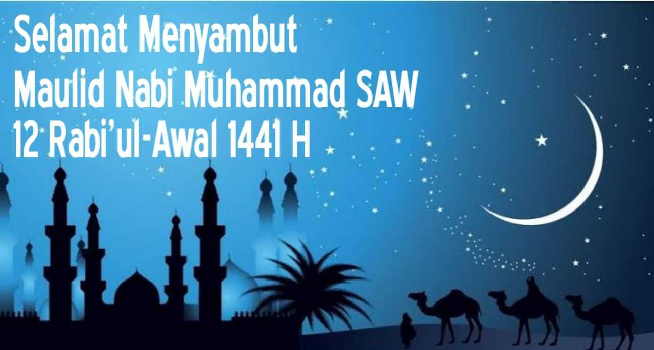 ucapan selamat hari maulid nabi muhammad 2019 1441 h