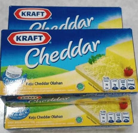 merk keju untuk salad buah