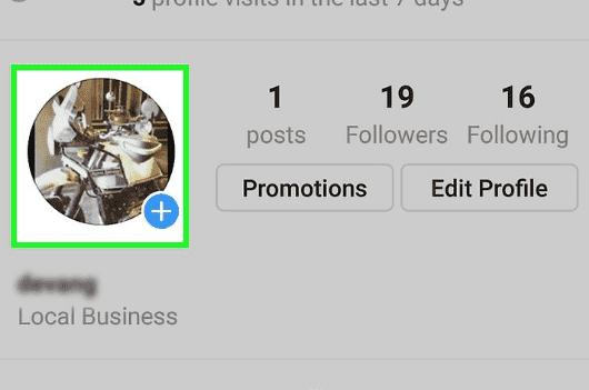 tidak bisa mengubah foto profil instagram
