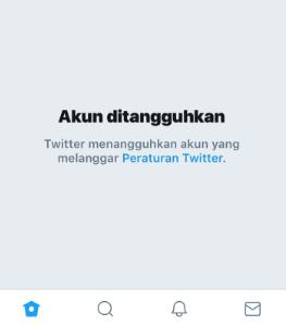 akun twitter ditangguhkan
